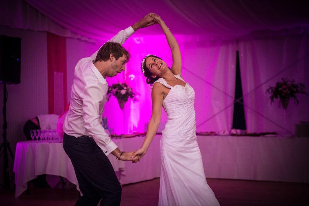Première danse au Fort Saint André à Salins les Bains