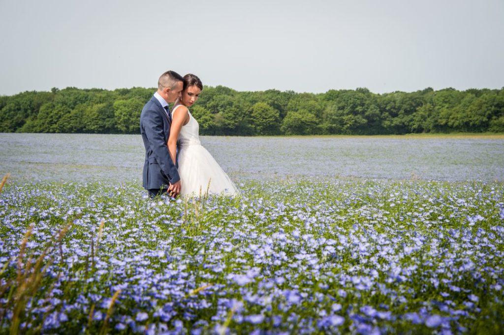 Photo de couple après mariage