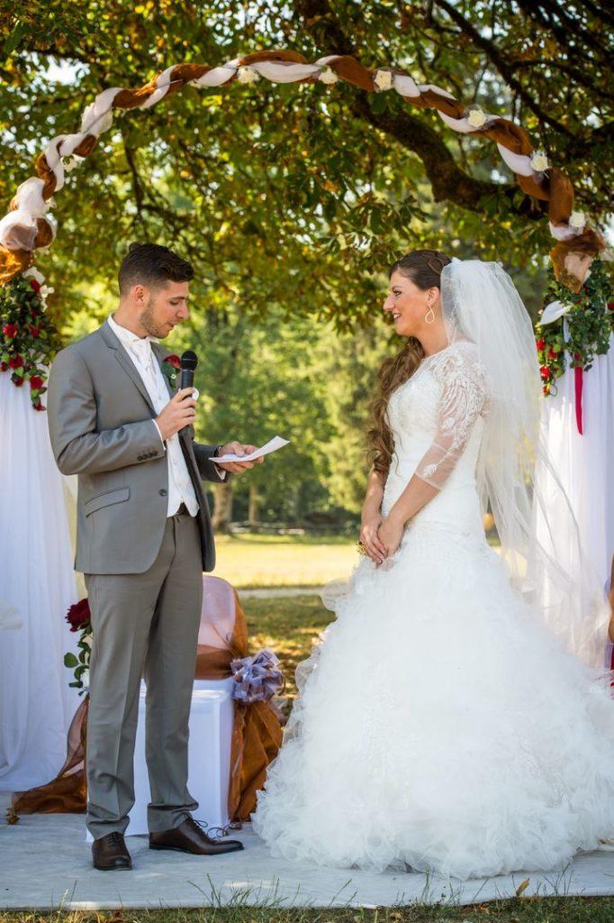 Discours du marié