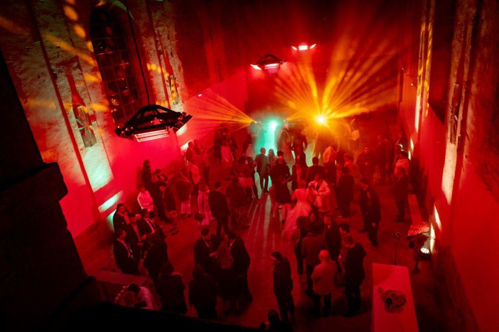 Piste de danse au Fort Saint André