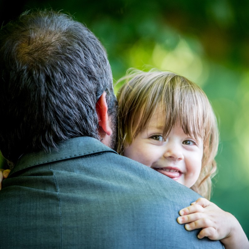 sourire d'une enfant